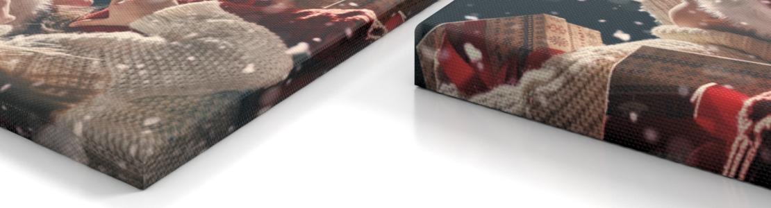 005b41f296a34 Leinwand Standard (mit 2 cm Rand bedruckt). Wenn Sie Ihr Bild auf Leinwand  matt drucken lassen und die Galerieoptik wählen ...